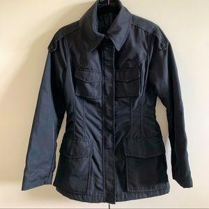 Black Jacket Hip Length